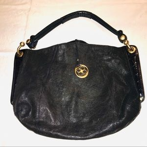 BCBG Maxazria shoulder black bag